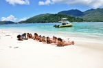 Relaxing, La Digue Island