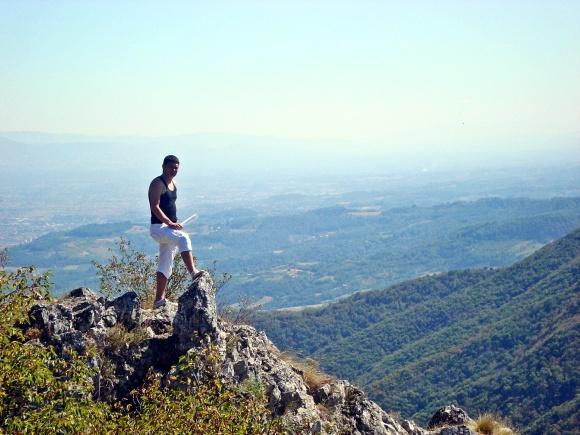 Pogled sa vrha Kablara